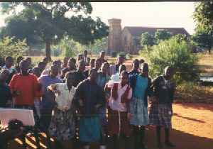 Ekwendeni Primary School kids