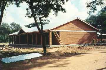 New boys hostel at the Deaf School