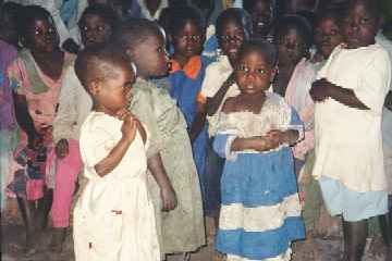 Orphans at Nkhoma