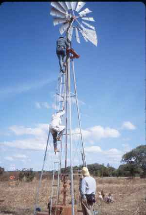 Windmill at Kalikumbi